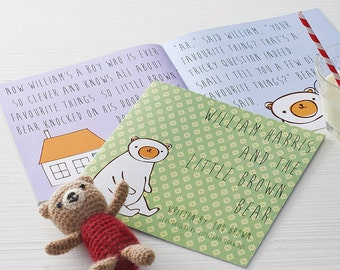 The Story of Little Brown - Personalised Children's Story Book