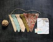 ON SALE DIY Bunting Kit:  Rustic Thanksgiving
