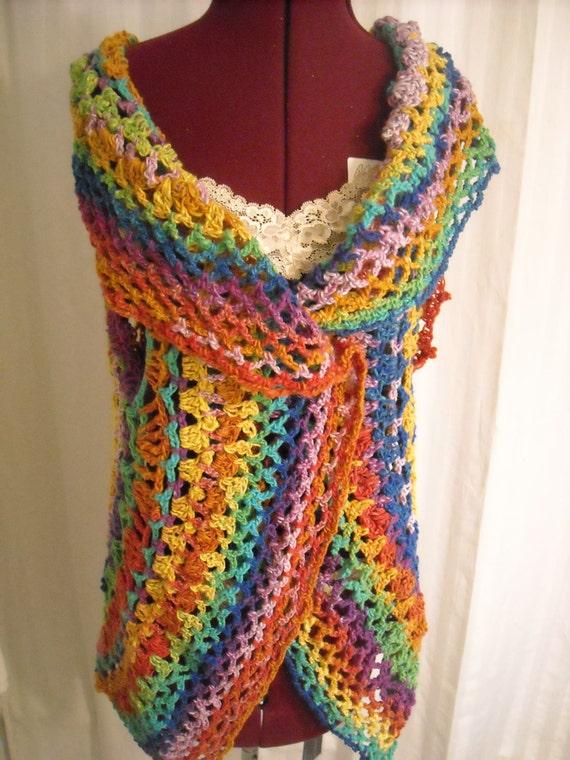 Rainbow Circle Vest, Large