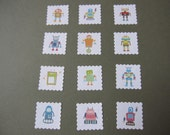 Custom - We Heart Jody -  Sticker flakes - set of 30