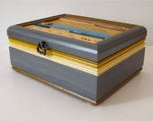SALE Jewelry Box -- Upcycled, Creatively Restored