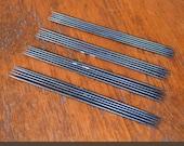 Ebony Double Point Knitting Needles - 4 Sets Five 7 inch Needles