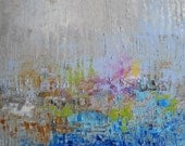 NEW - Contemporary Modern Abstract Original Oil painting with palette knife