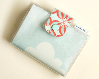 Bifold Card Wallet - Clouds