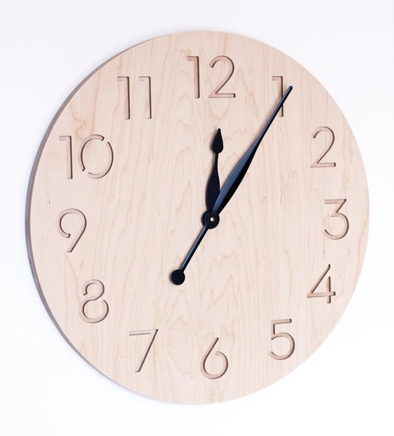 Extra large modern wall clock for Giant modern wall clock