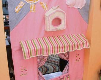 Custom Puppet Theater/Playhouse You pick colors/design