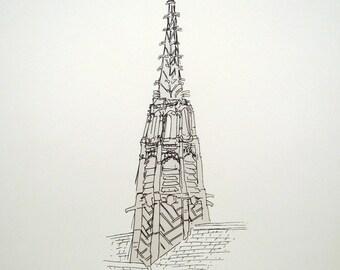 Old Church Spire