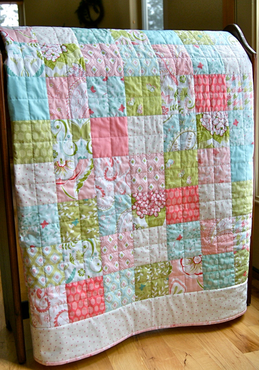 Quilt Baby Toddler Lap Bella Butterfly Patty Sloniger Handmade