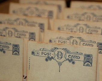 Wedding Place Cards,  Vintage Post Cards Placecards, Wedding Escort Cards,  Tent Table Place Cards, Wedding Placecards