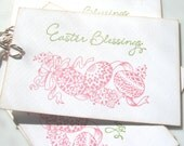 Easter Blessings Gift Tags, Easter Gift Tags, Easter Egg tags
