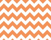 Medium Chevron in Orange by Riley Blake - 1 Yard