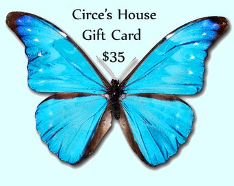 Gift Certificate, Gift Card for Circe's House--Redeem for Ready Made or Custom Jewelry
