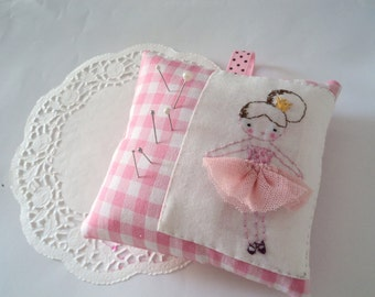 sweet pink pincushion ballerina pink tutu made to order