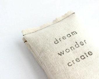 Dream Wonder Create Lavender Sachet, Gift for Artists, Handmade Gifts for Her