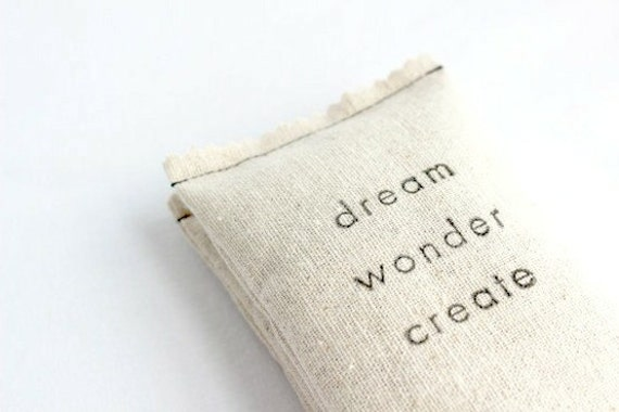Dream Wonder Create Lavender Sachet, College Student Graduation Gift for Artists