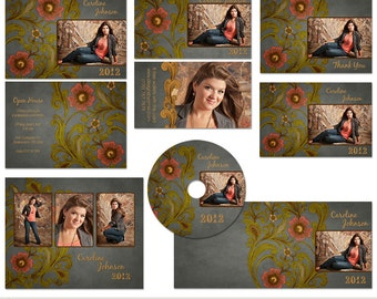 411 rep cards etsy for Senior photo collage templates