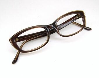Vintage Womens Cat Eye Eyeglasses Sunglasses Art Craft Frame