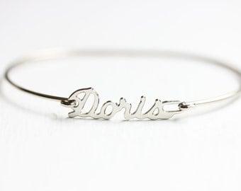 Vintage Name Bracelet - Doris