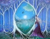 A fairytale  art print. Secret Garden by Amanda Clark
