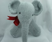 Knitted,  Elephant, Softie,