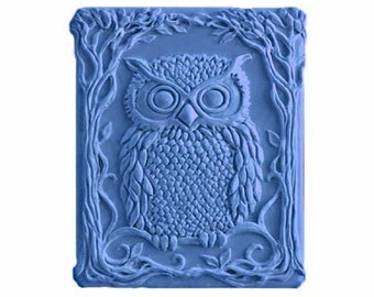Owl Soaps - Decorative  Soaps   - Organic Soaps -  Glycerin Soaps - Natural Soaps - Moisturizing Soaps  -  Choose Your Own Scent