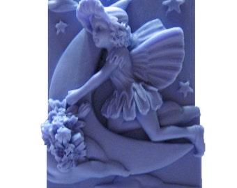 Crescent Moon - Fairy Soap - Organic Soap - Decorative Soap -  Glycerin Soap - Soaps - Moisturizing Soap - Fragrance Oil Mulberry