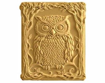 Owl Soap - Organic Soaps - Decorative  Soap  -  Glycerin Soap - Natural Soap - Owls - Birds - Moisturizing Soap  -  Choose Your Own Scent