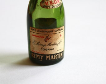 French Miniature Bottle of Cognac