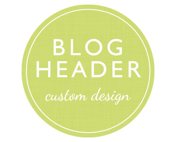 Custom Blog Header or Website Header