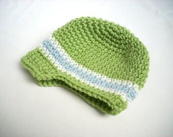 Baby Visor Beanie, 4 Colors Available