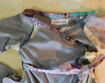 Dreaming of You Baby Kimono and matching Diaper Cover 12 month set Summer Sale