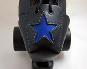 DA-45 Toe Guards with Cobalt Blue Stars