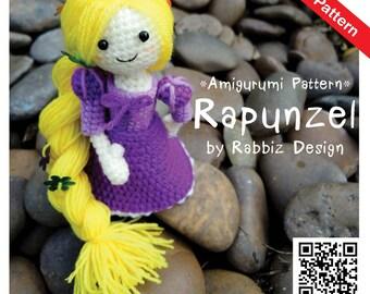 PDF Pattern - Amigurumi Rapunzel Pattern