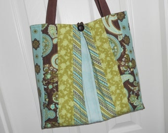 "The ""Maggie Mae"" Quilted Tote Bag"