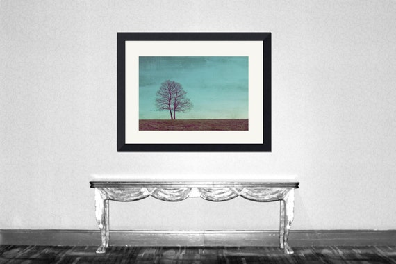 All I wanna do is grow old with you -Two trees nursery wedding anniversary valentines day together forever Fine Art Print deco Limited 13/50