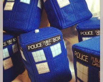 Doctor Who - Tardis Plush parody - In Stock