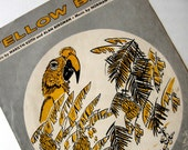 Vintage Sheet Music Yellow Bird Gray 1950s