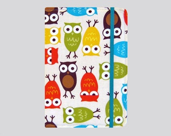 Kindle Cover Hardcover, Kindle Case, eReader, Kobo, Kindle Voyage, Kindle Fire HD 6 7, Kindle Paperwhite, Nook GlowLight Owls