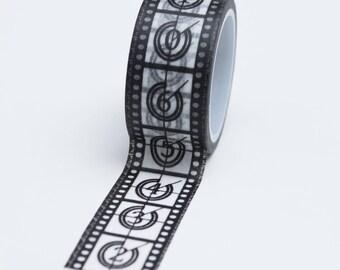 Washi Tape - 20mm - Movie Film Take - Paper Deco Tape No. 742