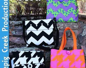 Oh Sew Mod Tote Sewing Pattern