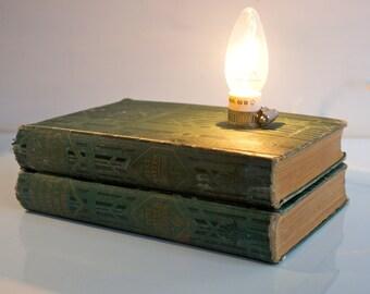 Vintage Book Lamp - International University Society