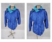 60/40 vintage mountain PARKA JACKET coat womens vintage jacket  womens medium