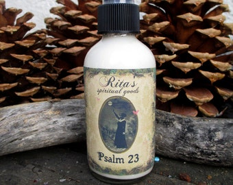 Rita's Psalm 23 Spiritual Mist Spray - Blessings, Good Luck, Protection, Enhance ANY Ritual - Pagan, Magic, Hoodoo, Witchcraft
