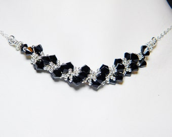 "Supernatural inspired Necklace Set by Whimsy Beading Beadweaving Sterling Silver - ""All the Toys"""
