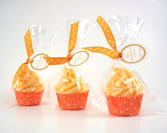 Mini Cupcake Bath Fizzy with Whipped Soap Frosting Set of 20 Individually Wrapped (Vegan Friendly)  Complimentary Shipping