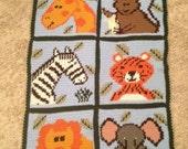 Pattern- Safari Afghan