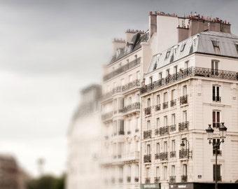 Paris Photography - Fine Art Architectural Photograph, Paris, France, Travel Photo, Neutral Wall Decor