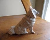 a dog figurine with a detachable head vintage 60s ussr russia