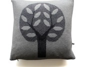 45cm Knitted Lambwool Big Tree cushion