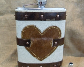 Love of Mine Steampunk Flask PERFECT for the One You Love